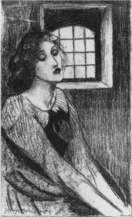 Jeanne Jacquemin, Another nightmare also tormented her, 1894, lithograph