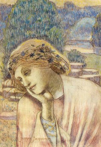 Jeanne Jacquemin, Daydream (Reverie), 1894