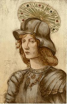 Jeanne Jacquemin, Saint Georges, 1898