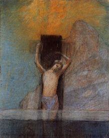 Odilon Redon, Christ on the Cross, 1897