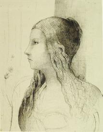 Odilon Redon, Brunnhilde, 1894
