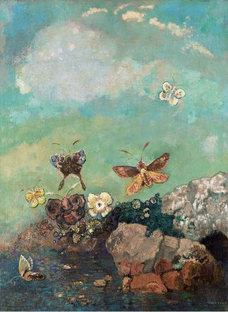 Odilon Redon, Butterflies, c1910