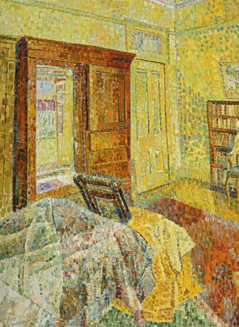 Grace Cossington Smith, Interior in Yellow, 1962
