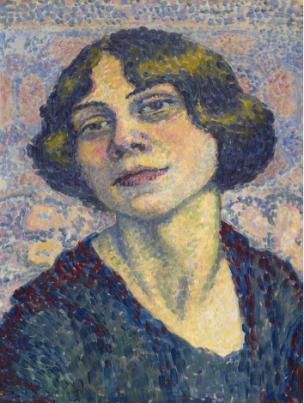 Lucie Cousturier, Self Portrait, c1905-10
