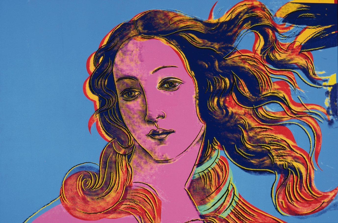 Andy Warhol, Details of Renaissance Paintings (Sandro Botticelli, Birth of Venuse, 1482), 1984