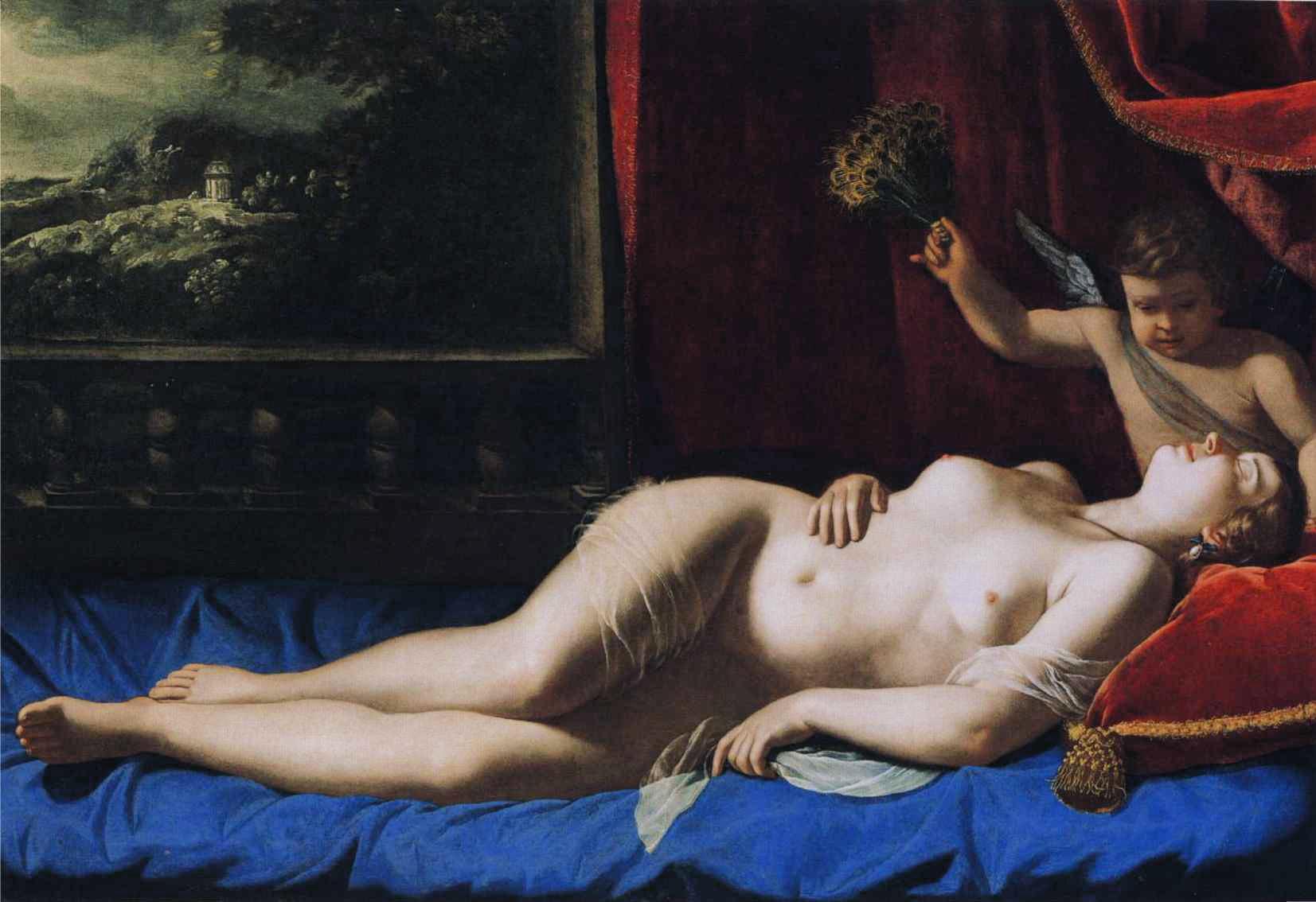 Artemisia Gentileschi, Sleeping Venus, 1625