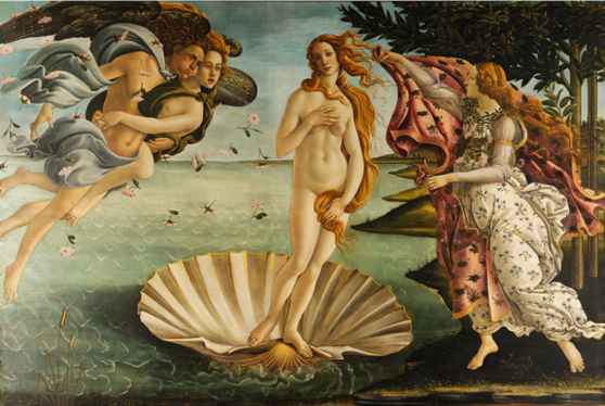 Botticelli, The Birth of Venus, 1846