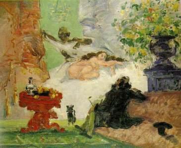 Paul Cezanne, Modern Olympia, 1873-4