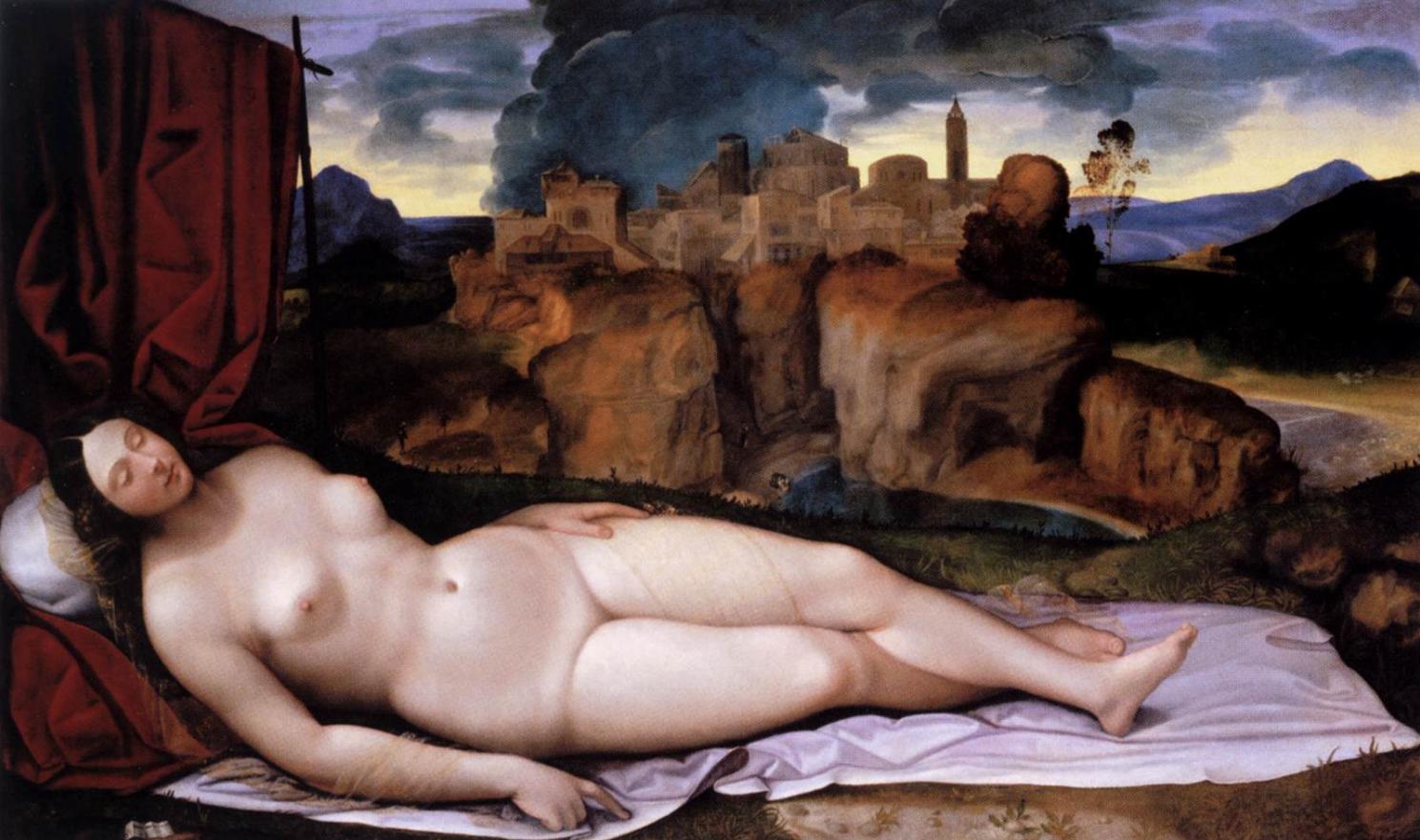 Girolamo da Treviso, Sleeping Venus, 1520