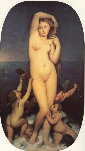 Ingres, Venere Anadiomene, 1848