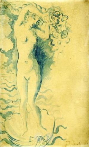 Pablo Picasso, Venus, 1905
