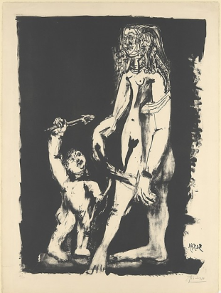 Picasso, Venus and Cupid, 1949