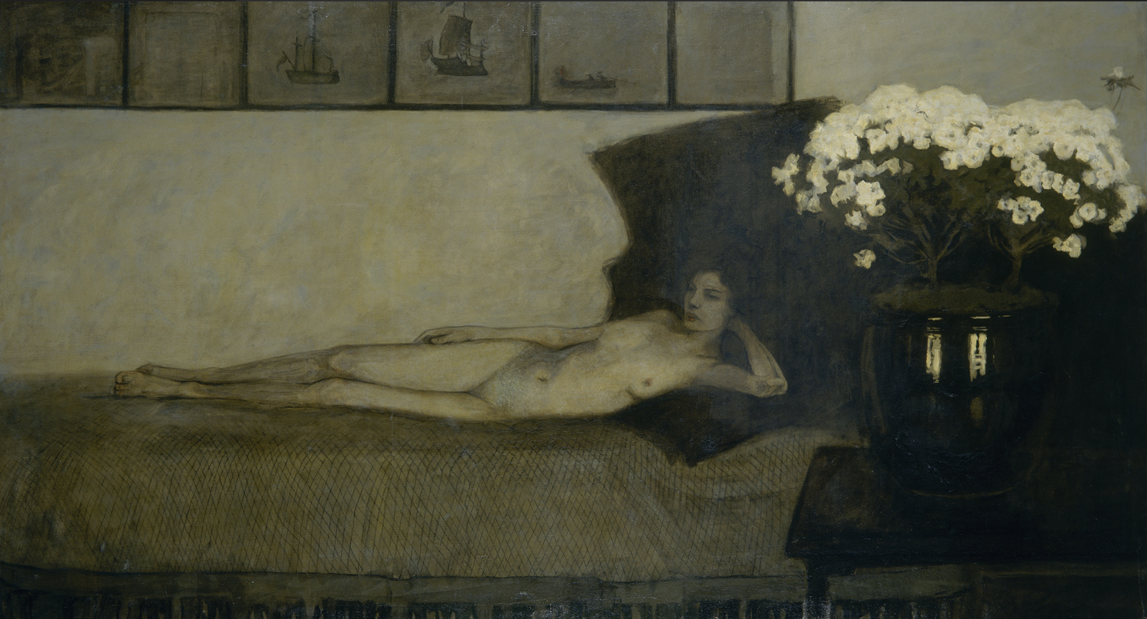 Romaine Brooks, White Azaleas, 1910
