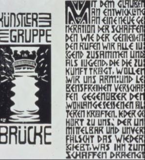 Die Brucke Manifesto