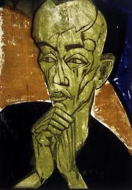 Erich Heckel, Portrait of a Man, 1919