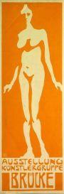 Fritz Bleyl, Poster Die Brucke, 1906