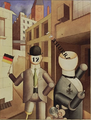 George Grosz, Republican Automations, 1920