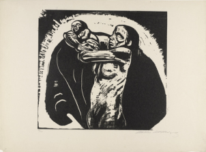 Käthe Kollwitz, The Sacrifice, 1923