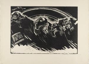 Käthe Kollwitz, Volunteers, 1923