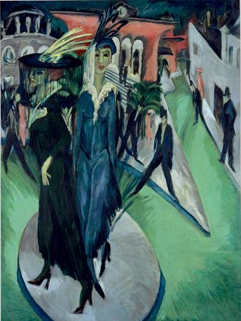 Ernst Ludwig Kirchner, Potsdamer Platz, 1914