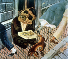 Otto Dix, The Match Seller, 1920