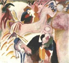 Wassily Kandinsky, Horses, 1909