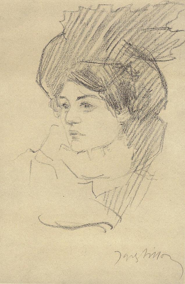 Jacques Villon Cent Croquis 1894 - 1904 Paris 1959 Lucie