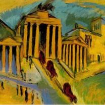 Kirchner, Brandenburger Tor, 1915