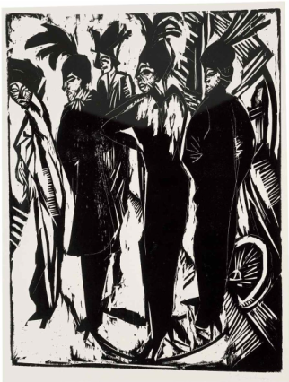 Kirchner, Five Cocottes, 1914