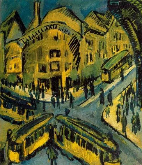 Kirchner, Nollendorfplatz, 1912
