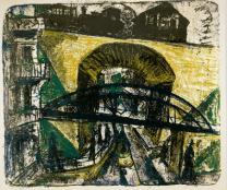 Kirchner, Tramway Arch, 1915