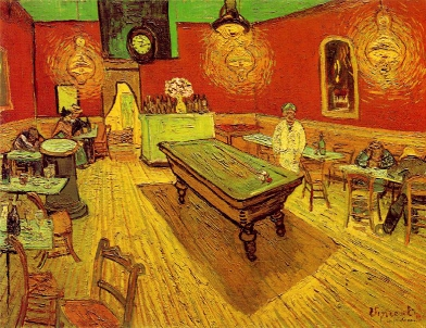 Van Gogh, The Night Café, 1888