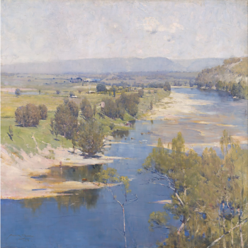 Arthur Streeton, The Purple Noon's Transparent Might, 1896