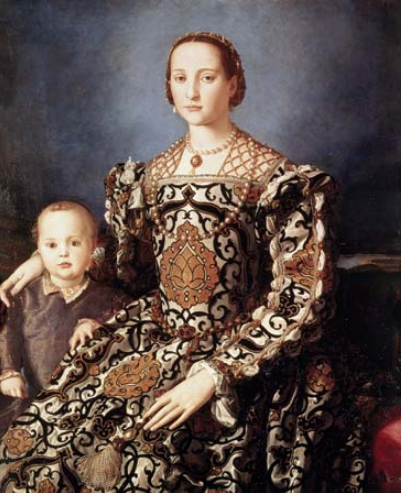 Bronzino, Eleonora of Toledo with Her Son Giovanni
