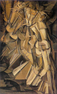 Marcel Duchamp Nude Descending the Stairs 1912