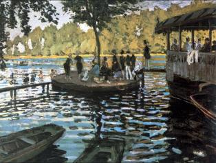 Claude Monet, La Grenouillere, 1869