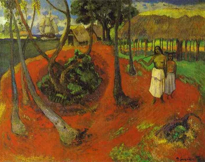 Paul Gauguin, Tahitian Idyll, 1902