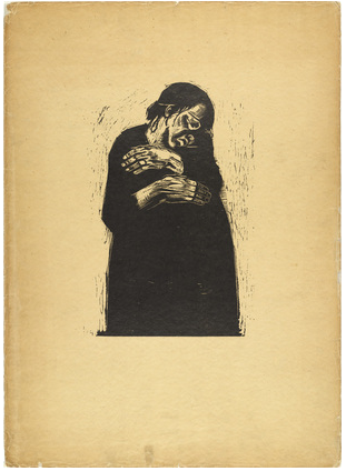 Kathe Kollowitz, Widow I, 1922