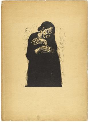 Kathe Kollowitz, Widow I, 1922