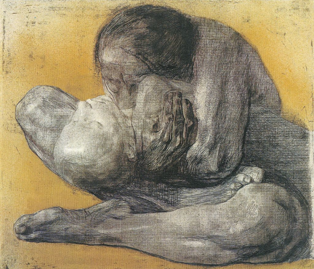 Kathe Kollowitz, Woman with Dead Child, 1903