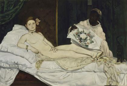 Edouard Manet, Olympia, 1853