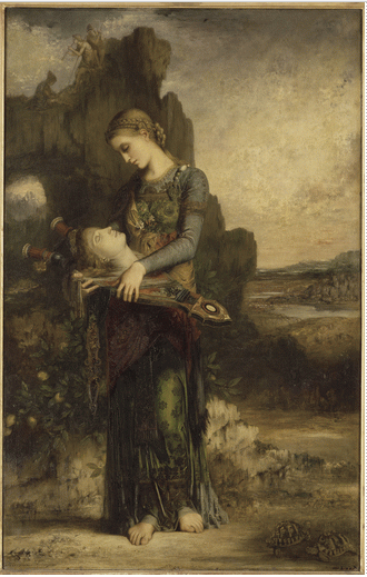 Gustave Moreau, Orpheus, 1865