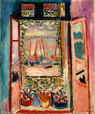 Henri Matisse, Open Window, 1905