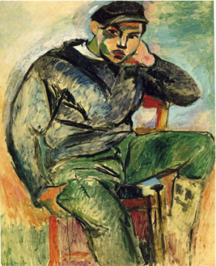 Henri Matisse, Young Sailor I, 1906