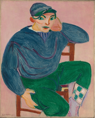 Henri Matisse, Young Sailor II, 1906