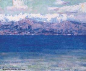 John Peter Russell, La Mer a La Spezia, 1896