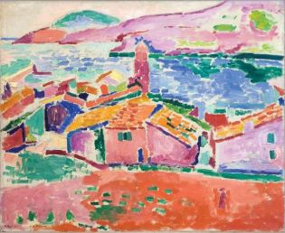 Henri Matisse, The Roofs at Collioure, 1905