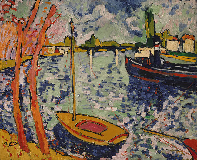 Maurice de Vlaminck, The River Seine at Chatou, 1906