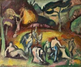Othon Friesz, Autumn Work, 1907, State Heritage Museum