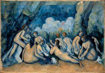 Paul Cézanne, The Bathers, 1898 - 1905
